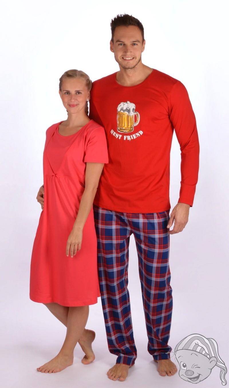 949335a3ab96 Pánské pyžamo dlouhé Velké pivo