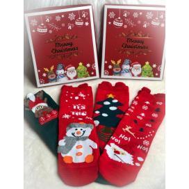 Dámské vánoční ponožky 39-42
