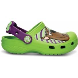 Creative Crocs Scooby Doo Clog Kids Volt Green/Dahlia