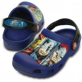 CROCS Creative Marvel Avengers III Clog - barva Cerulean Blue