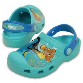 CROCS CC Finding Dory Clog Kids - barva Pool