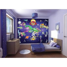 Walltastic 3D Tapeta Ufonci  (2438 mm x 3048 mm)