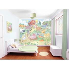 Walltastic 3D Tapeta Baby Farma  (2438 mm x 3048 mm)