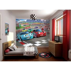 Walltastic 3D Tapeta Auta (2438 mm x 3048 mm)