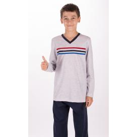 Dětské pyžamo dlouhé Pruhy