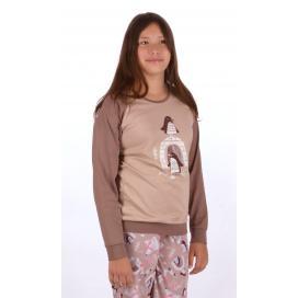 Dětské pyžamo dlouhé Tučňáci