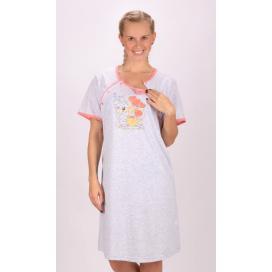 Dámská noční košile mateřská Méďa s dárkem