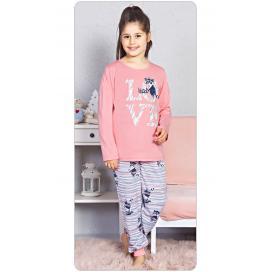 Dětské pyžamo dlouhé Mýval