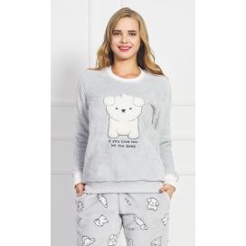 Dámské pyžamo dlouhé Štěně
