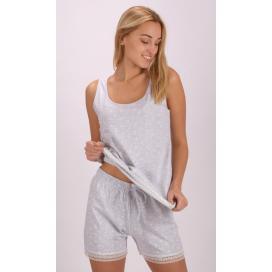 Dámské pyžamo šortky na ramínka Helena