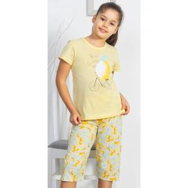 Dětské pyžamo kapri Citron