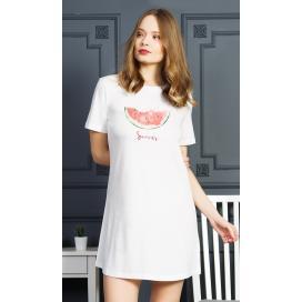 Dámská noční košile s krátkým rukávem Summer