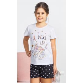 Dětské pyžamo šortky Jednorožec