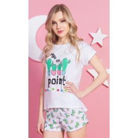 Dámské pyžamo šortky Kaktus