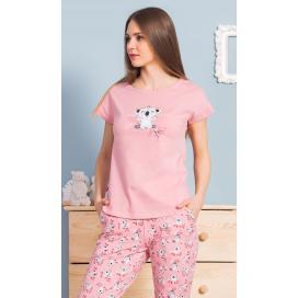 Dámské pyžamo kapri Happy monday