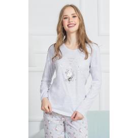 Dámské pyžamo dlouhé Jednorožci