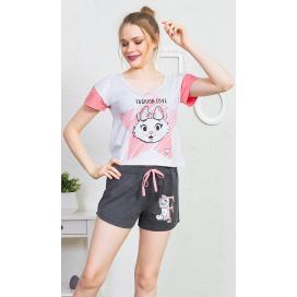 Dámské pyžamo šortky Fashion
