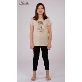 Dětské pyžamo kapri Dívka s klíčem