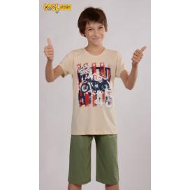 Dětské pyžamo kapri Motocykl