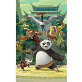 Walltastic 3D Tapeta plakát Kung Fu Panda (1524 mm  x 2438 mm)