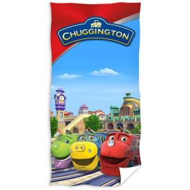 Carbotex osuška Chuggington 70x140 cm