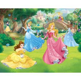 Walltastic 3D Tapeta Disney Princezny 2 (2438 mm x 3048 mm)