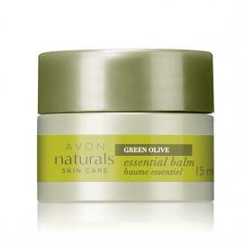Avon Naturals Essential Balm balzám s výtažkem z oliv 15 ml