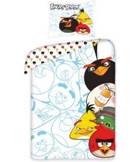 Halantex Povlečení Angry Birds blue bavlna 140x200, 70x80 cm