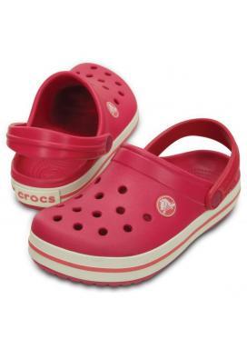 CROCS Crocband Kids - barva Raspberry/White