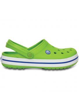 CROCS Crocband - barva Volt Green/Varsity Blue