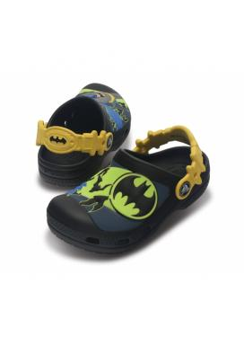 CROCS Kids Batman Custom Clog - barva Black/Sea Blue