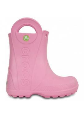 CROCS Handle It Rain Boot Kids - barva Carnation