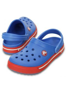 Crocband II.5 Clog Kids - barva Varsity Blue/Red