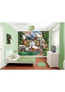 Walltastic 3D Tapeta Džungle 2 (2438 mm x 3048 mm)