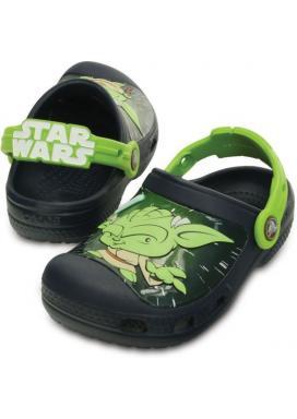 CROCS CC Star Wars Yoda Clog - barva Navy