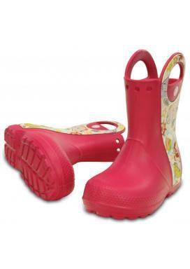 Handle It Sea Life Boot - barva Raspberry