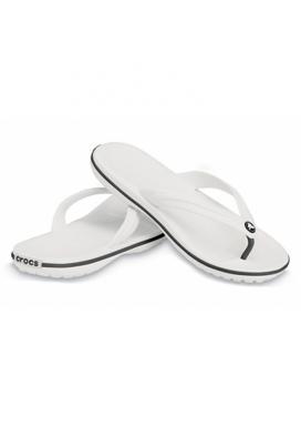 CROCS Crocband Flip - barva White
