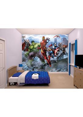 Walltastic 3D Tapeta Avengers Assemble  (2438 mm x 3048 mm)