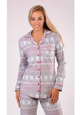 Dámské pyžamo dlouhé Nora