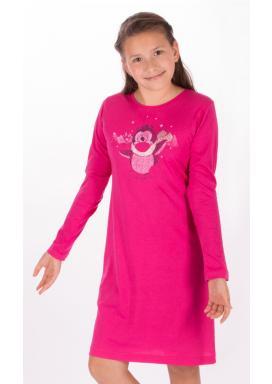 Dětská noční košile s dlouhým rukávem Tučňák