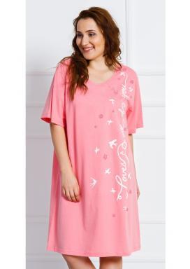 Dámská noční košile s krátkým rukávem Vlaštovky