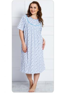 Dámská noční košile s krátkým rukávem Anežka