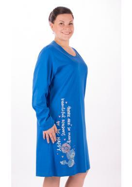 Dámská noční košile s dlouhým rukávem Angela