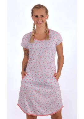 1d075858ba0 Dámské domácí šaty s krátkým rukávem Stars