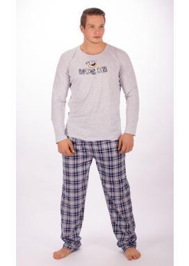 Pánské pyžamo dlouhé Pes