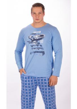 Pánské pyžamo dlouhé Auto Legend