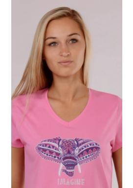 Dámská noční košile s krátkým rukávem Slon Imagine