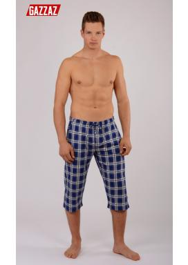 Pánské pyžamové kapri kalhoty Václav