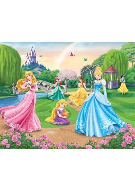 Walltastic 3D Tapeta Disney Princezny (2438 mm x 3048 mm)