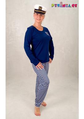 Dámské pyžamo dlouhé Mýval